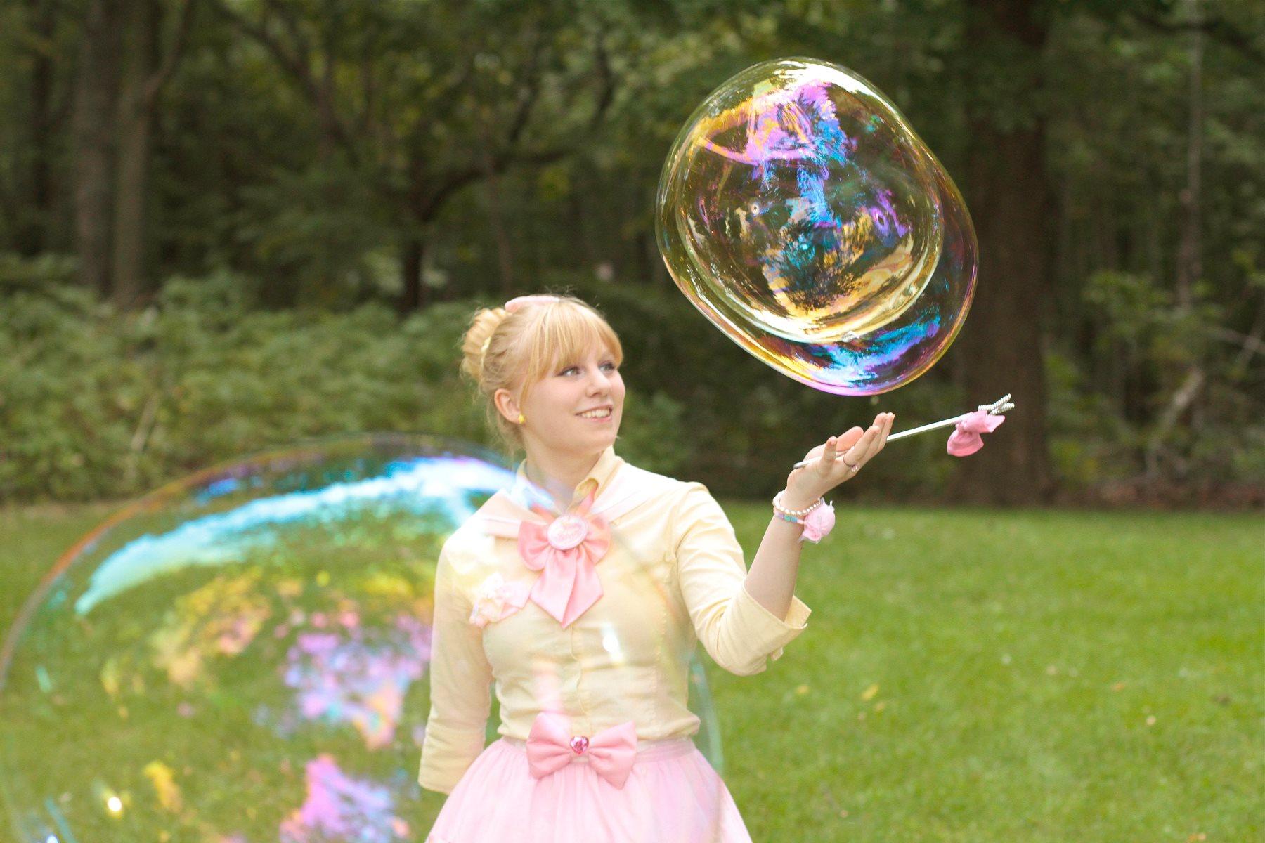 Bubble Girl - Harajuku Fashion Shoot