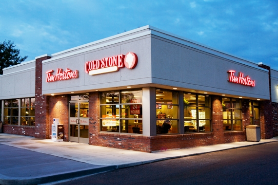 Tim Horton's + Cold Stone Creamery  Nationwide