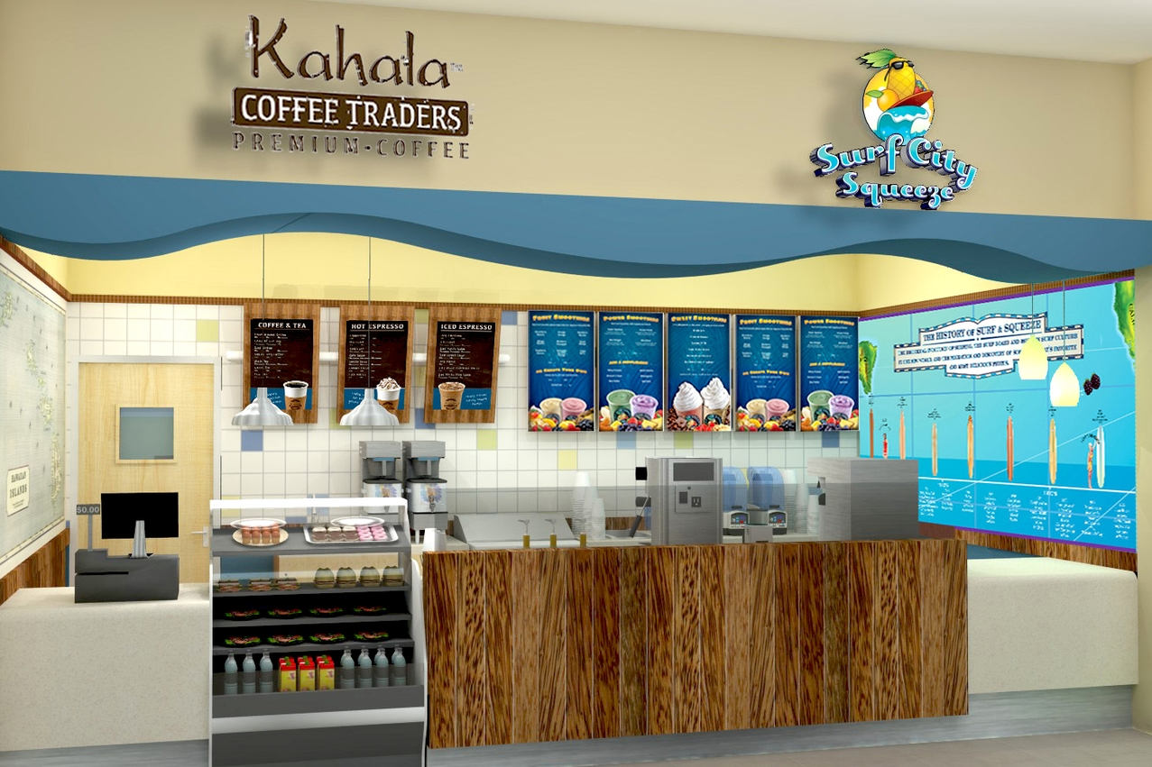 Kahala Coffee Traders / Surf City Squeeze  Nationwide
