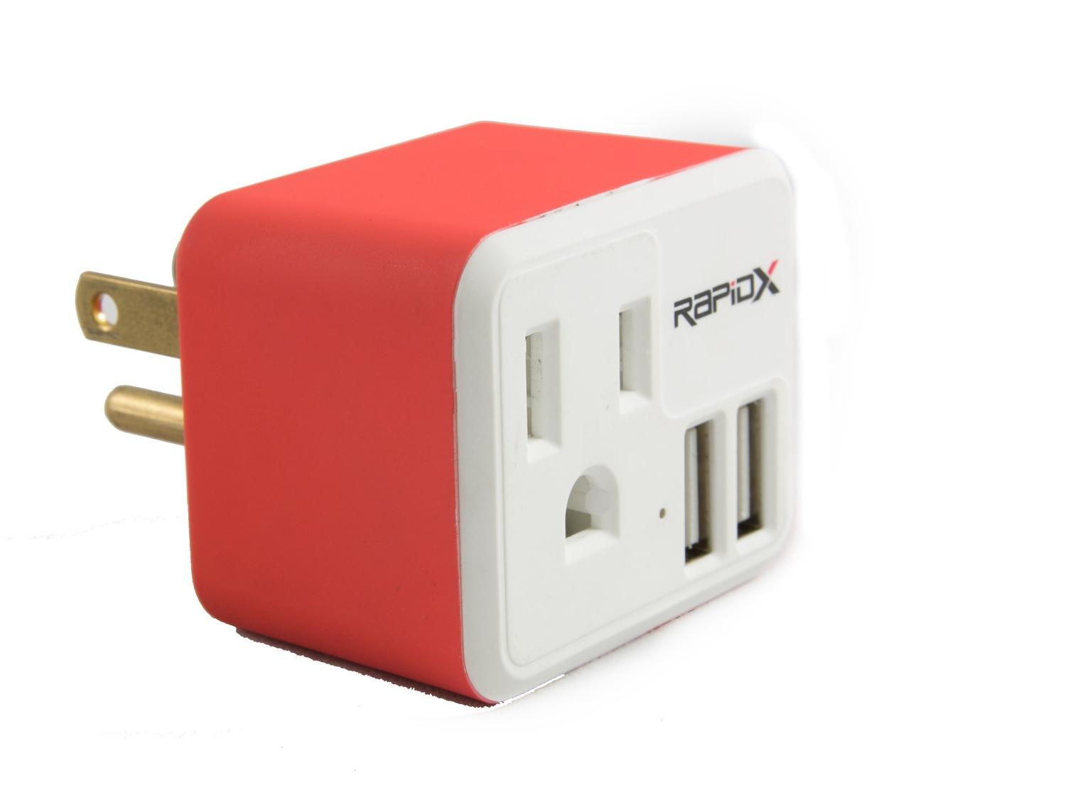 RapidX - PowX2 USB Wall Charger