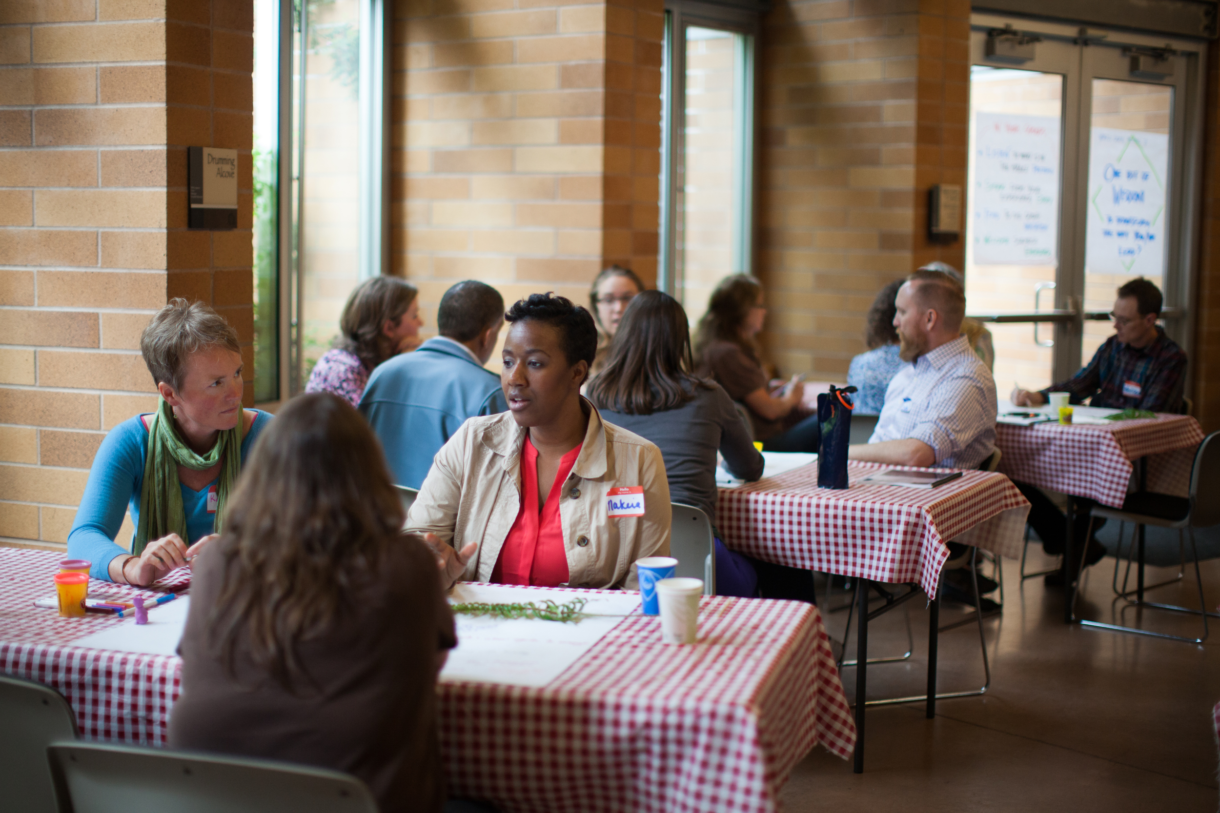World Cafe is a core practice of Art of Hosting.