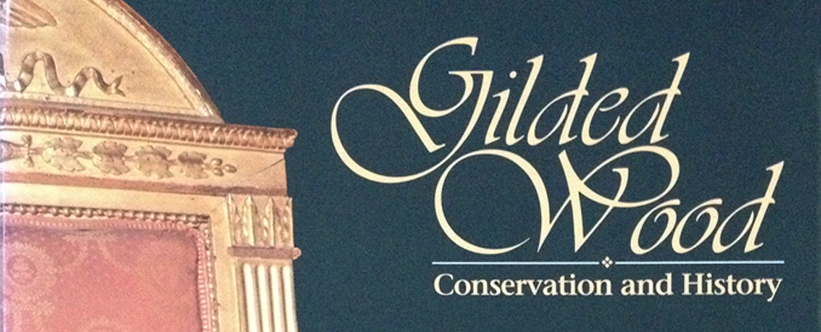 1986-1991 : AMERICAN INSTITUTE FOR CONSERVATION (Gilding Conservation Symposium)