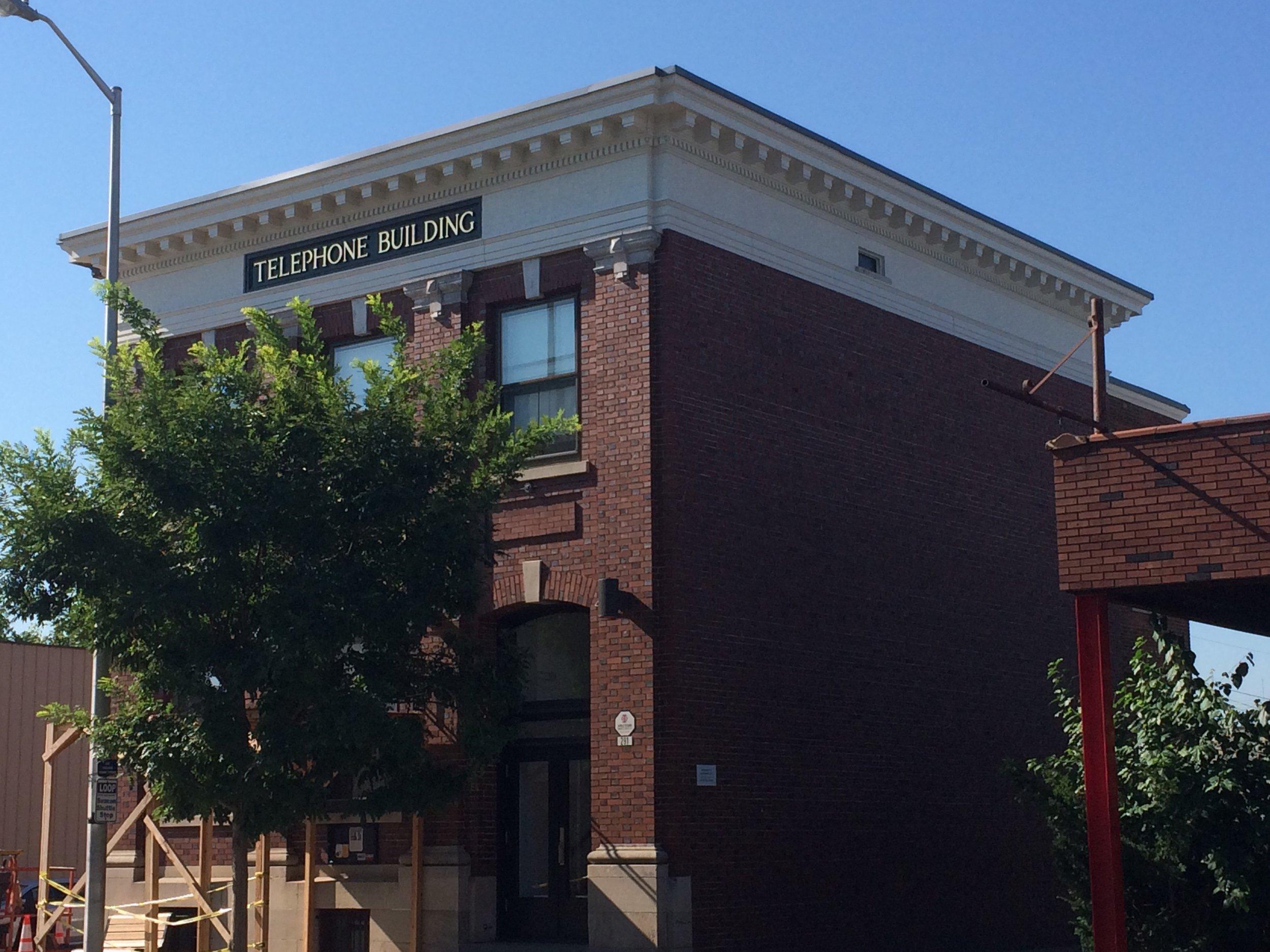 The Telephone Building at 291 Main Street,Beacon NY