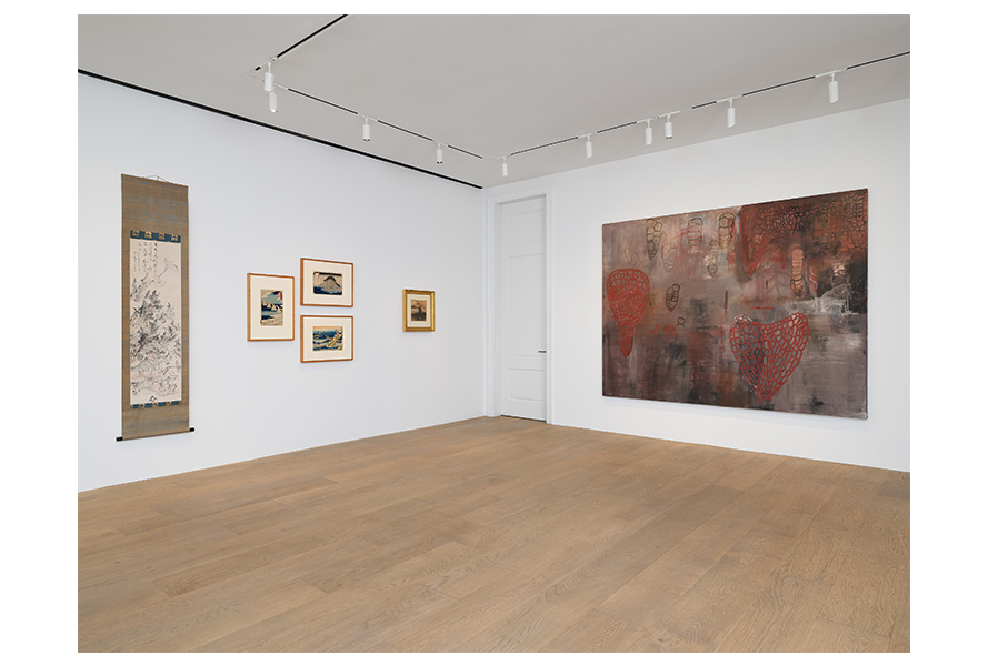 Visible Traces (Mountain Water Air)    A group exhibition curated by Pat Steir  Lévy Gorvy, New York, NY  June 25- August 9, 2019