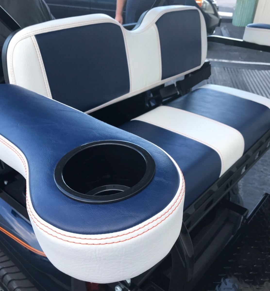 Matching Rear View Seating