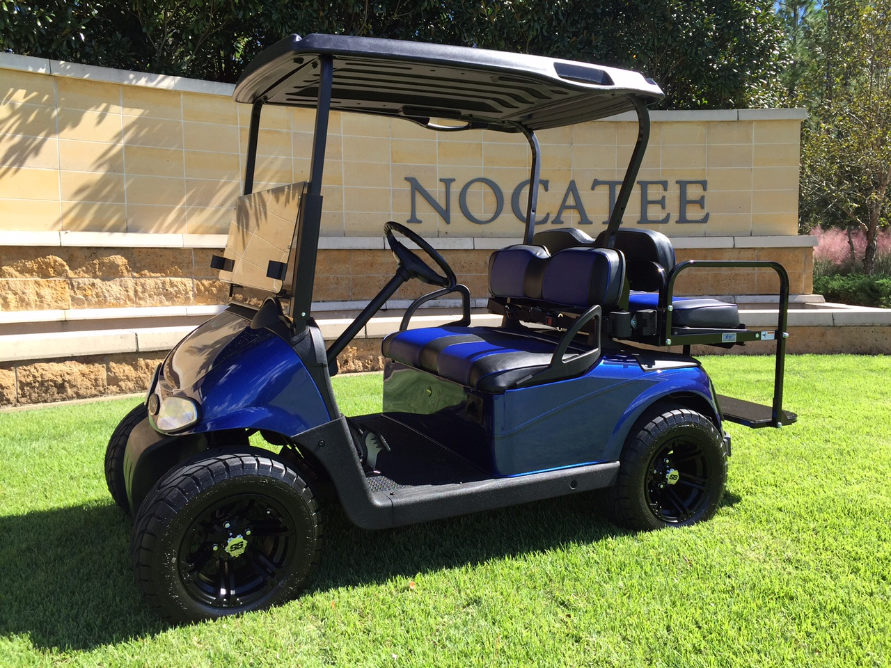 Elec Blue Cart blue inset seats.JPG