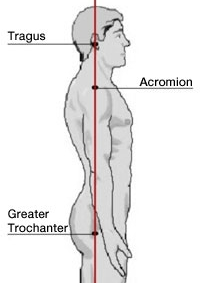 Fig. B: Optimal shoulder alignment