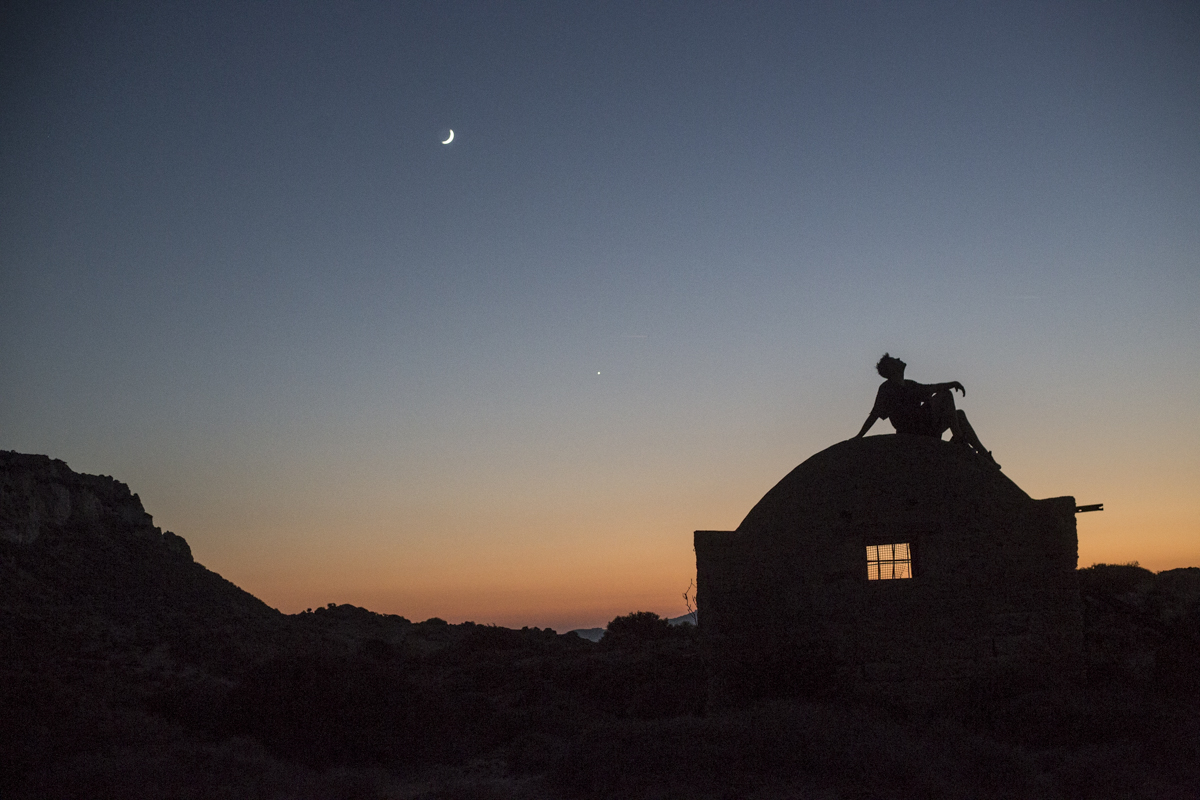 Good night Santorini, finding unique locations at sunset with Jason Paul.