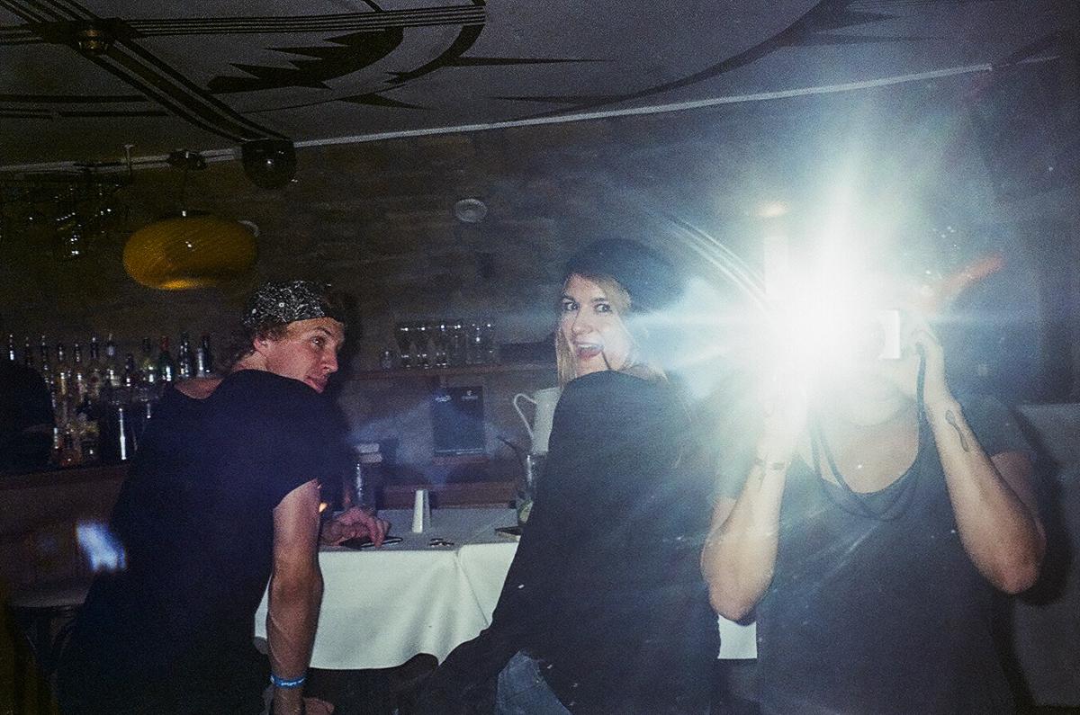 Dublin, Ireland 2014 - Jesse La Flair, Bri La Flair & I at a secret bar. shhhh
