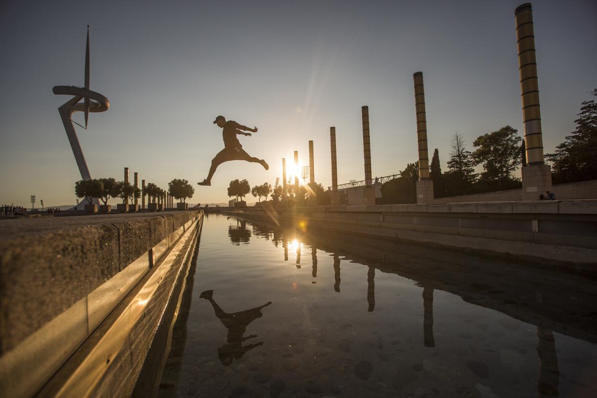 Jason Paul, sunset in Barcelona