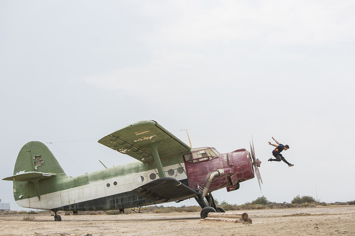 January 2016 - Umm Al Quwain, United Arab Emirates - Jason Paul.  Abandon Airplane Blog Post.  Click to read  Airplane Acrobatics article .   This was a category finalist in the  Red Bull illume Photography Contest.