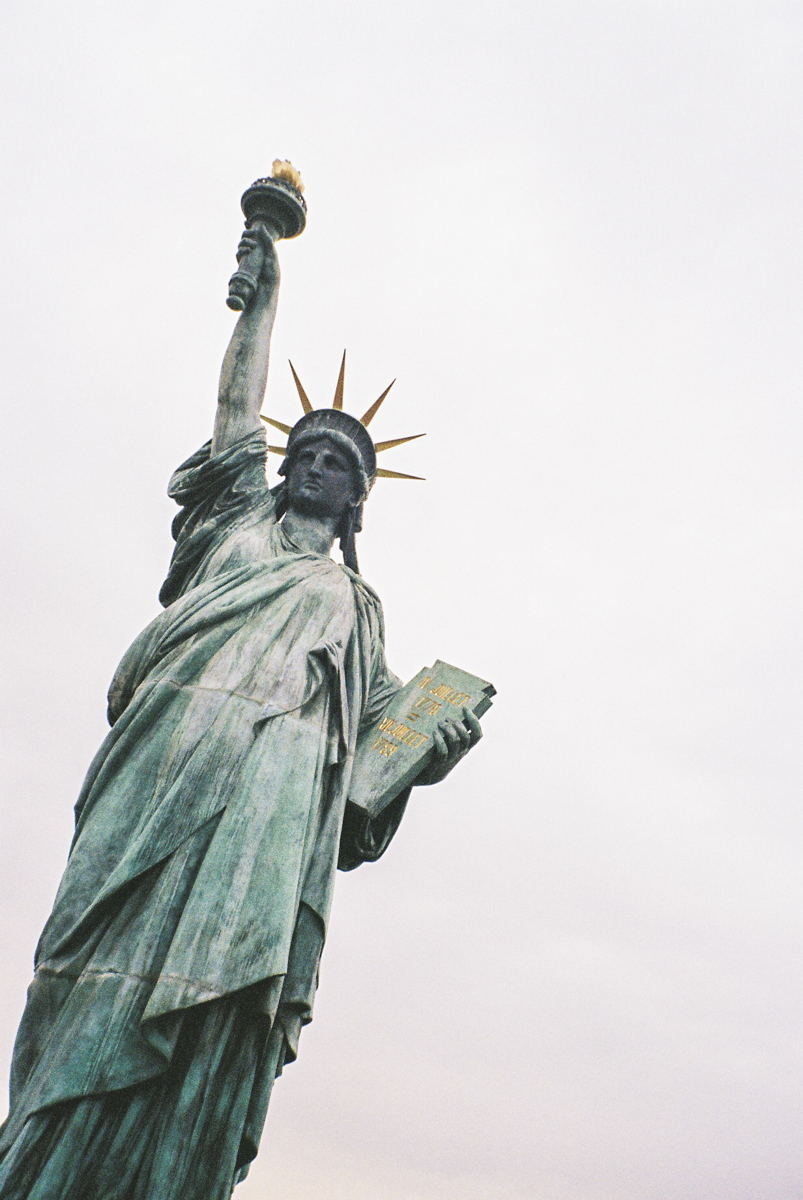 I learned that there are many statues of liberty.