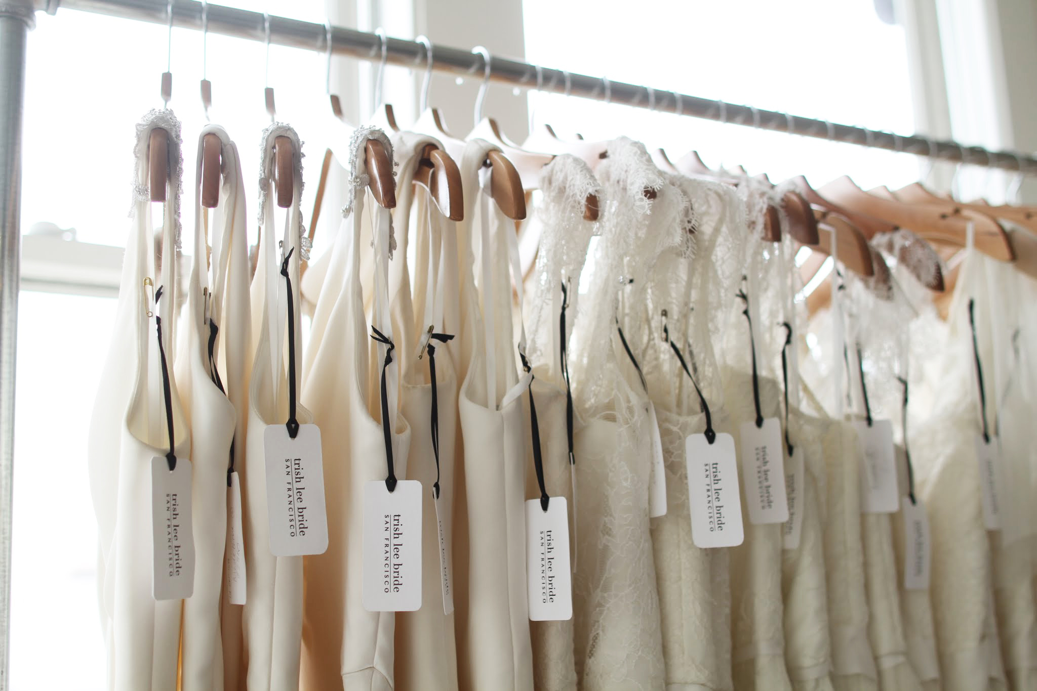 Custom wedding dresses – designed and made in San Francisco.