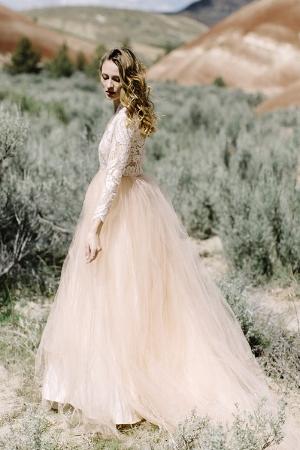 Paloma  Gown by  Elizabeth Dye