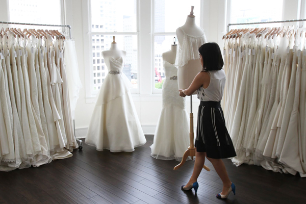 Trish Lee Bridal is hosting a massive sample sale as they join forces with leading direct-to-consumer bridal company,  Anomalie , Sample dresses are 40% to 80% off regular retail $2000 to $5000. Make an  appointment  today to view dresses.