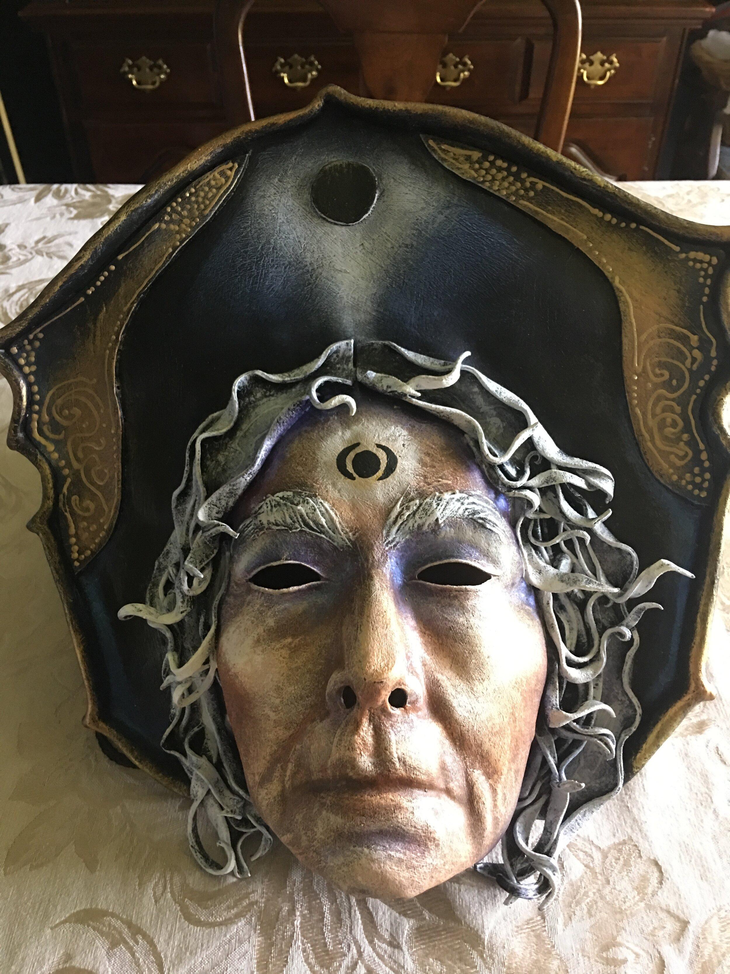 Hecate Mask by, Lauren Raine