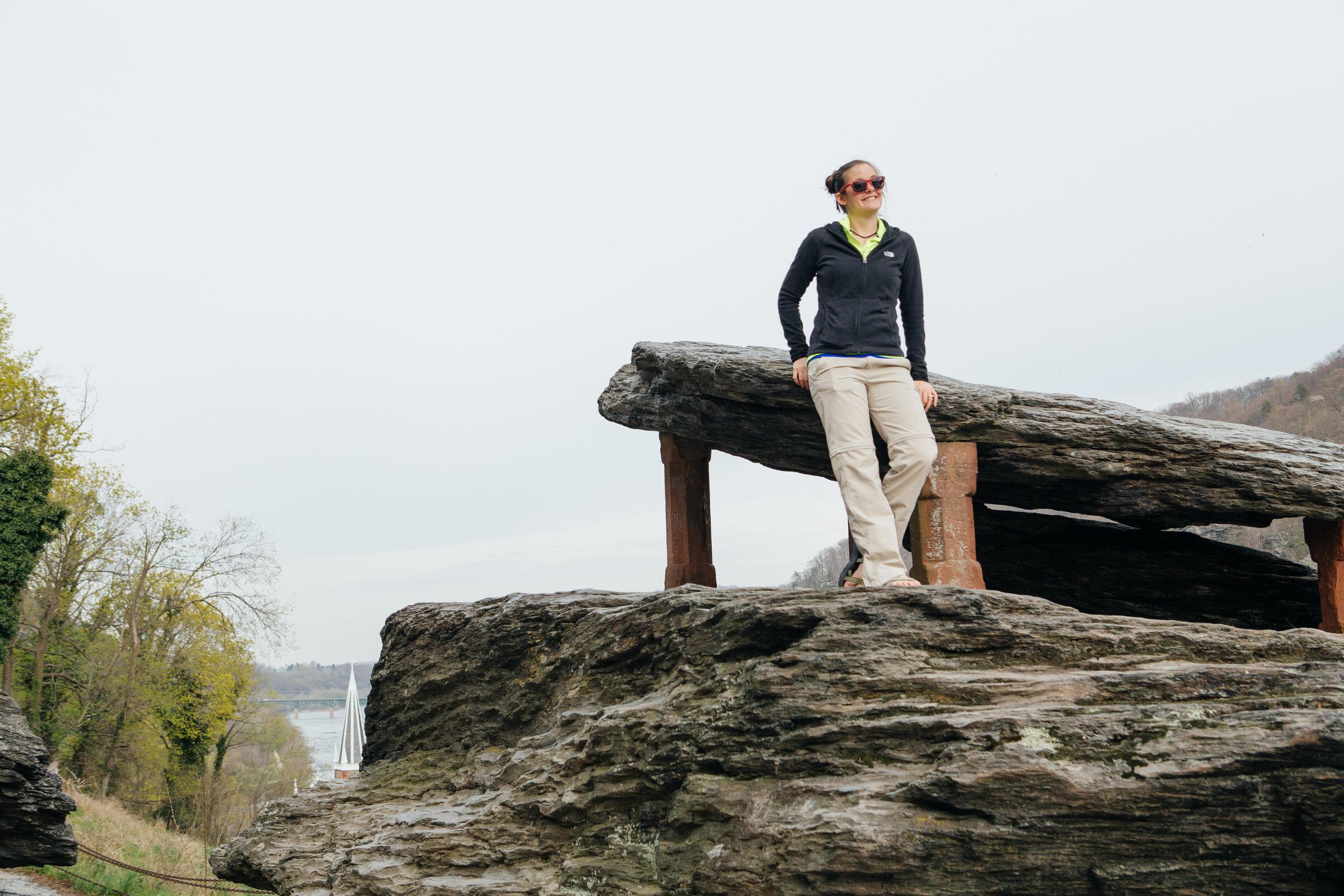 Jefferson Rock in Harper's Ferry, WV.