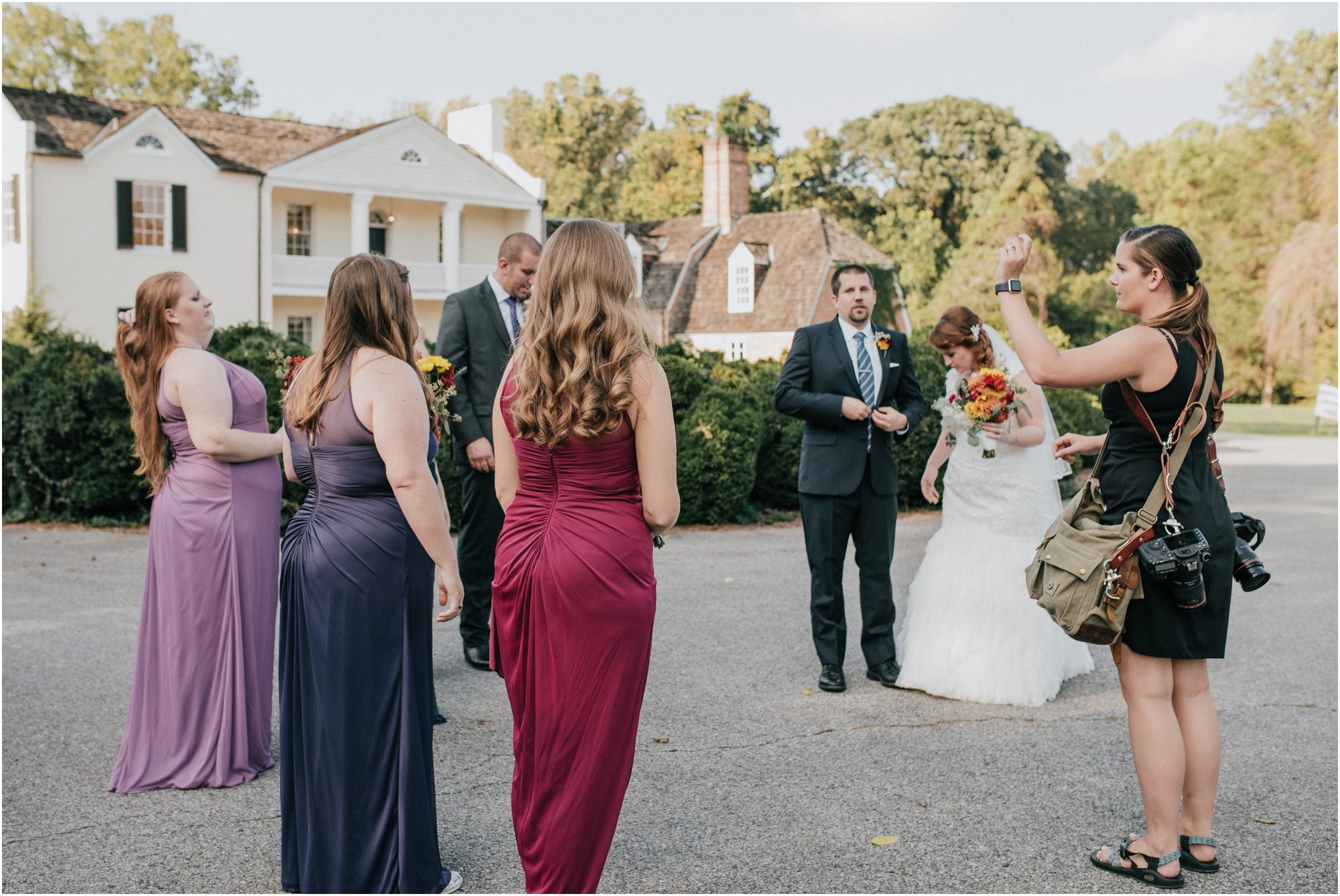 Photographed Bethany's wedding! More bridal party bossing!