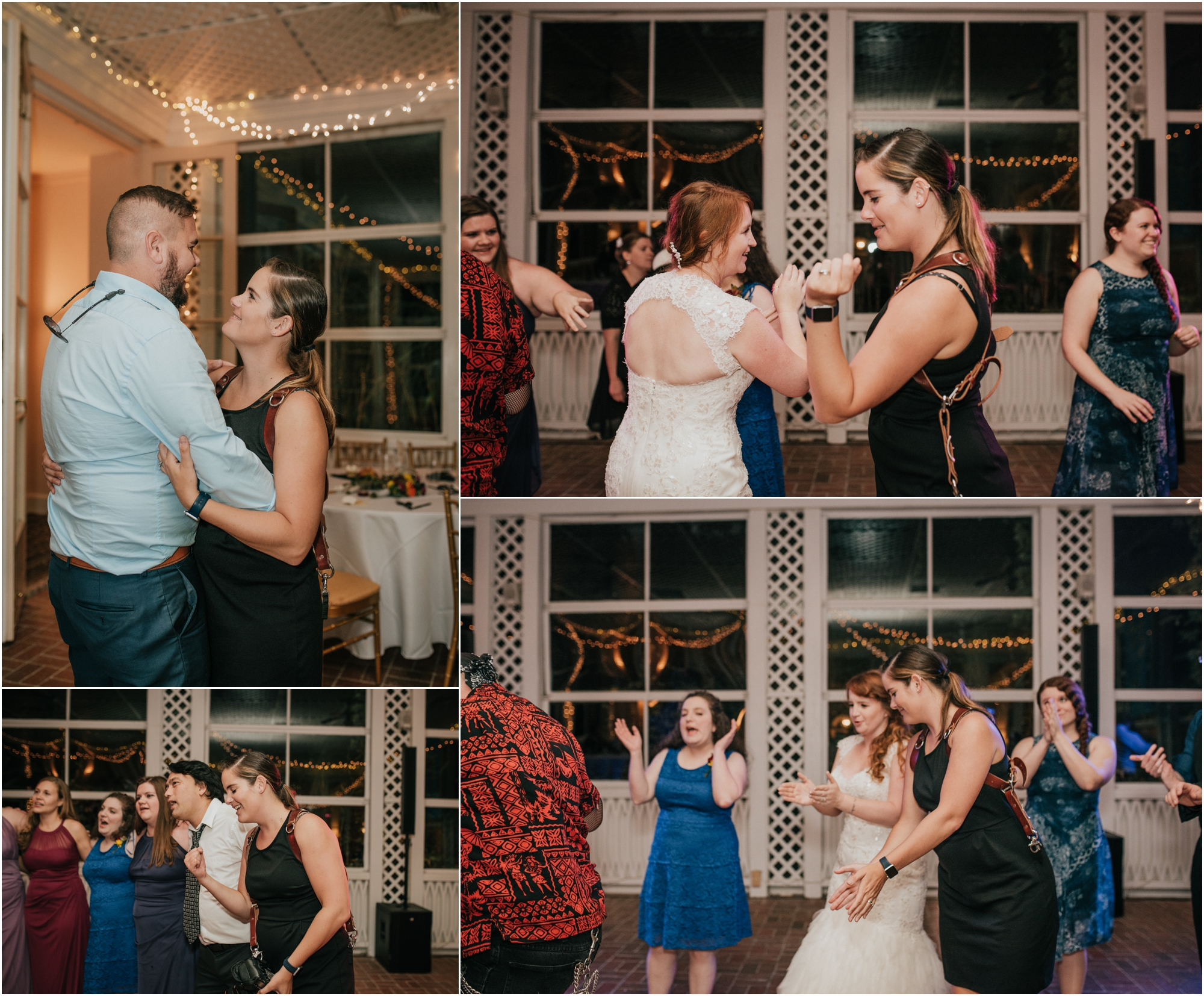 Since Andrew and I were also guests at Bethany's wedding, we danced our butts off like guests.
