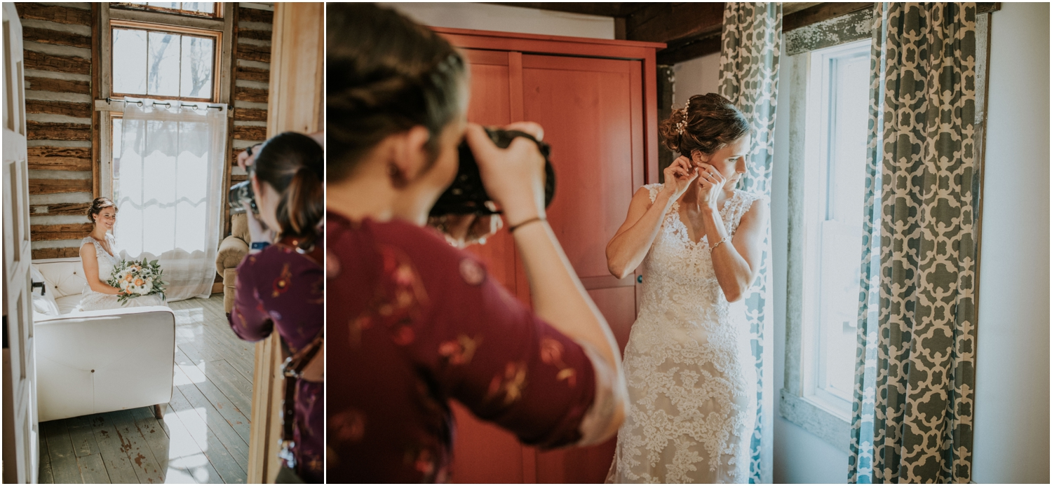First wedding for 2018 was Kayla and Aaron's at the Millstone!