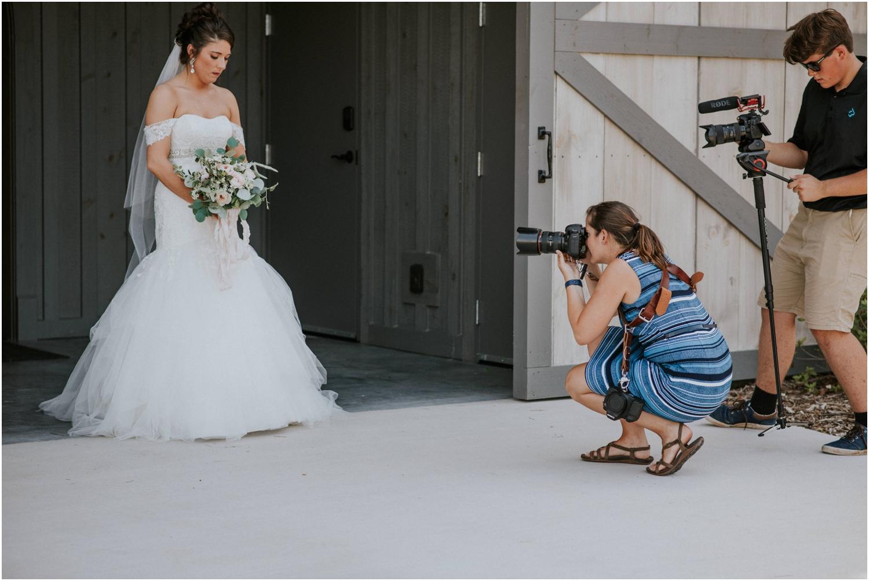Bridal details alongside awesome videographers from Walker & Bradley