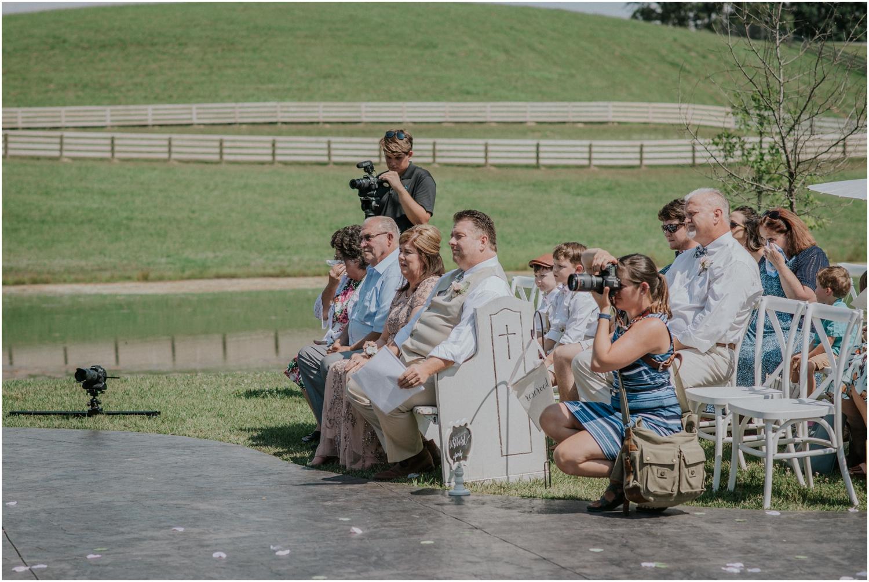 Serious ceremony shootin'.