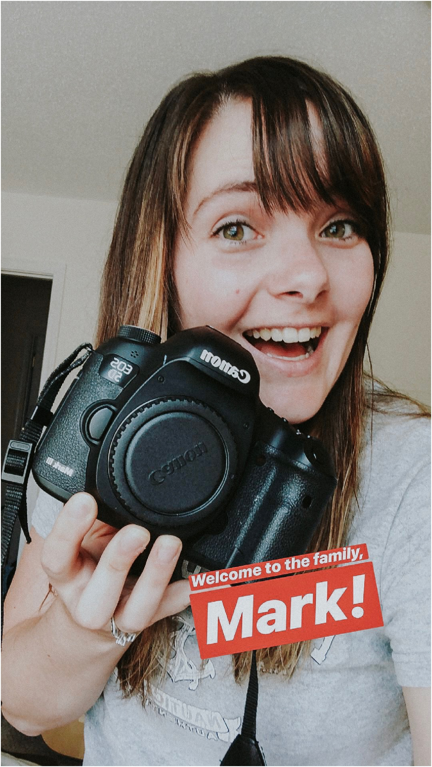 Welcomed a new family member- Mark, the Canon 5D Mark III!