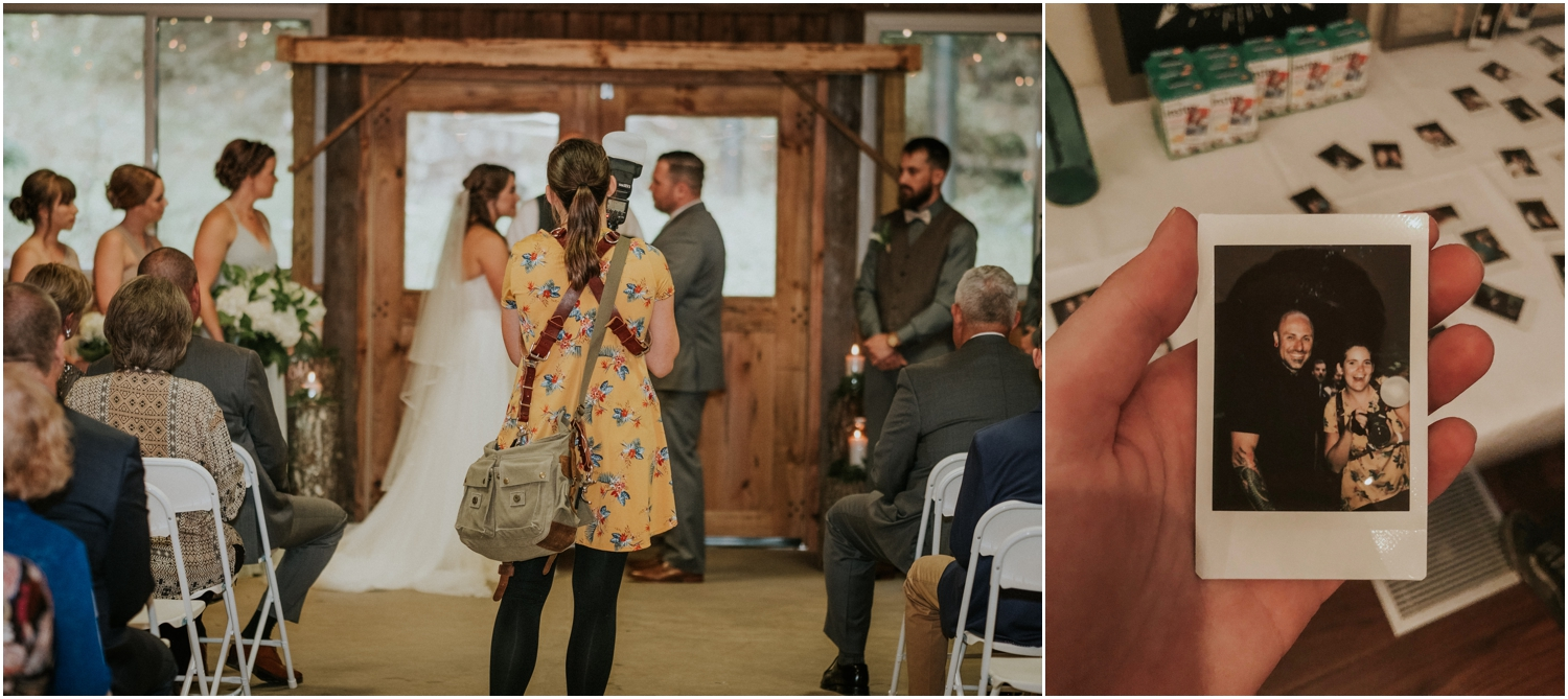 My first wedding at the Camp at Buffalo Mountain and I loved it! So glad that Jeremy could tag along and second shoot!
