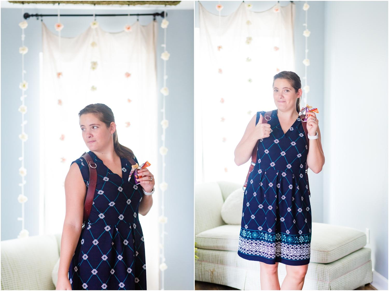 Granola bars are my best friend on wedding days- gotta stay energized!