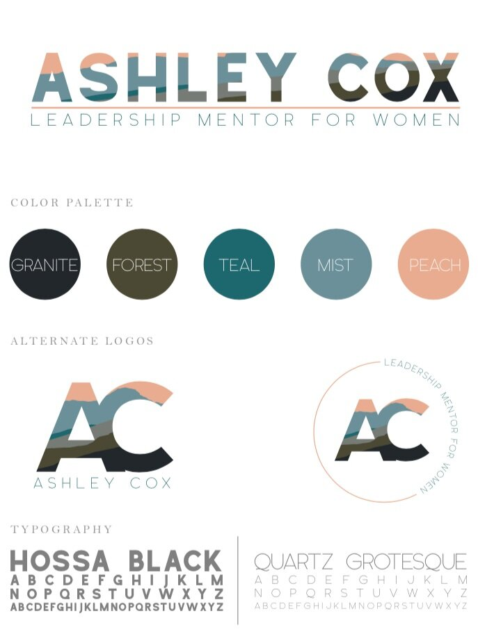 Here's a peek at Ashley's branding, so you can see how we coordinated colors and vibes in her shoot! Branding by the amazing Chelsea Magruder,  Magruder Photo and Design .