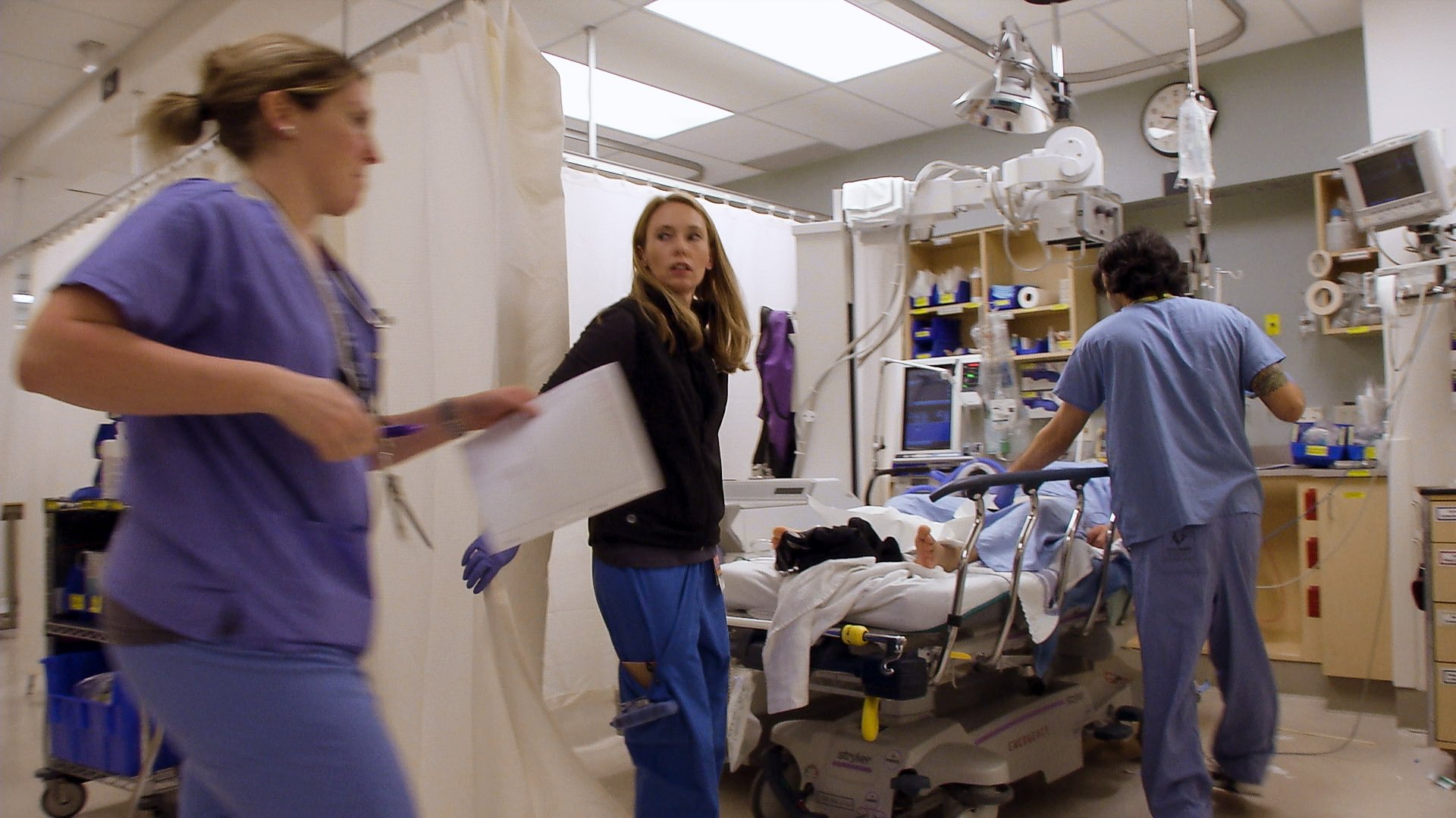 EMERGENCY ROOM: LIFE + DEATH AT VGH   Directed by Kevin Eastwood