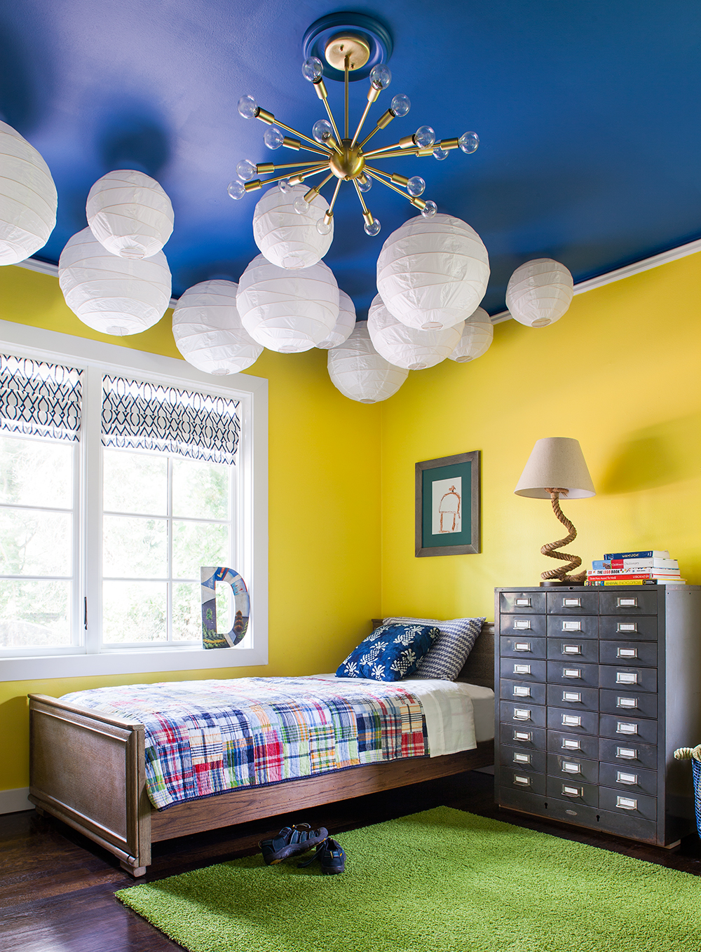 pasadena boy's bedroom | jeff herr photography