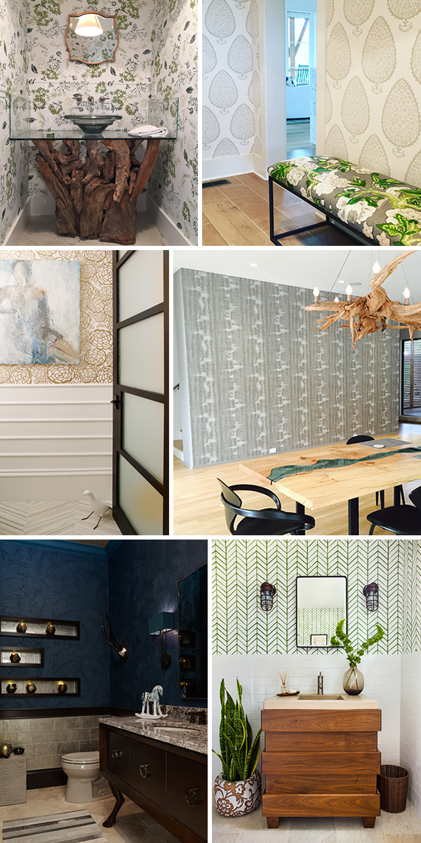photo credit: gold floral and blue fern patterns, emily jenkins followill photography; bottom right, jeff herr photography; all others, me