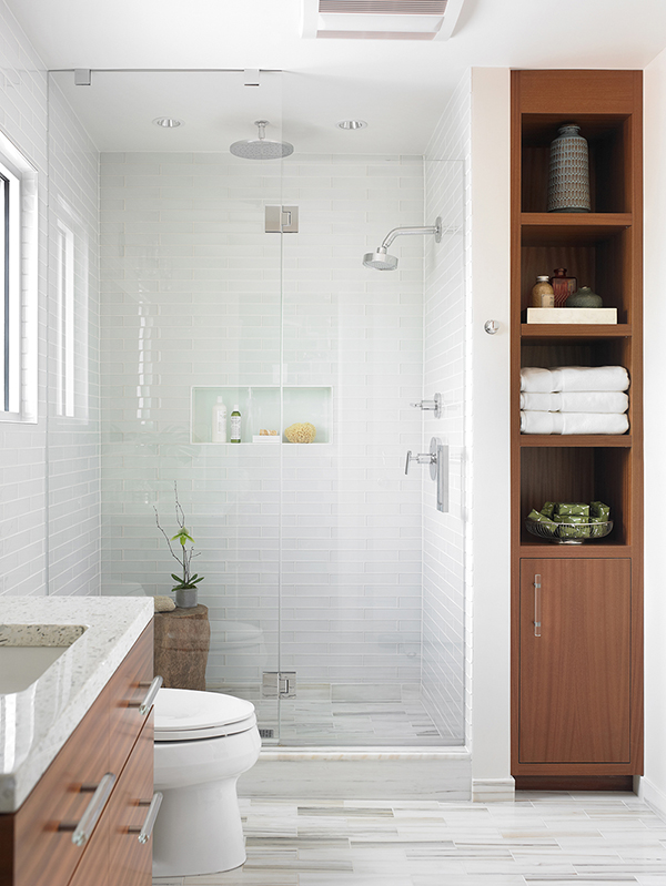 the picture that's been saved over 10k times on houzz!!!!! this blows me away!!  wall tiles lucian in oxygen.photo credit emily followill jenkins