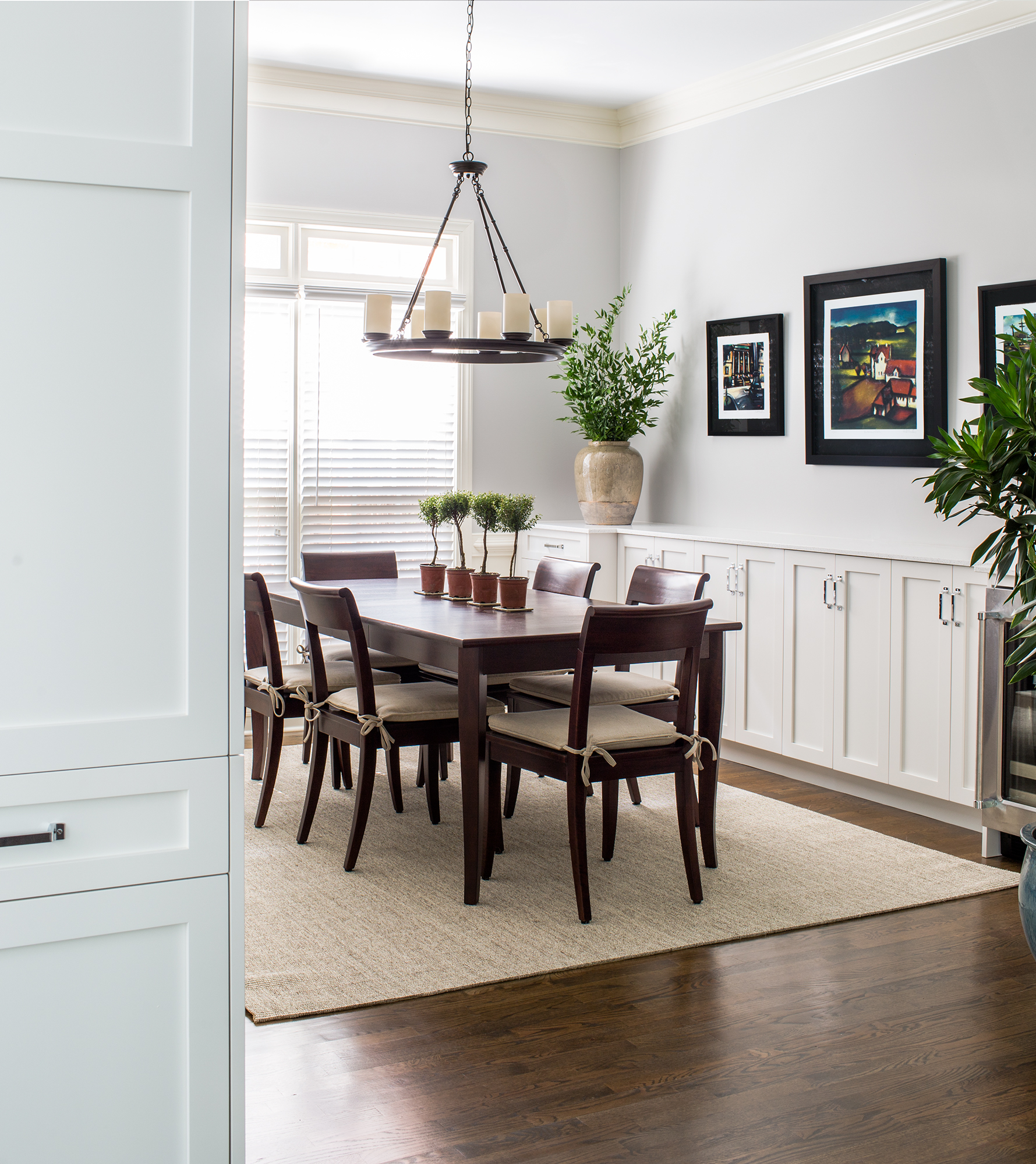 decatur dining room renovation | jeff herr photography