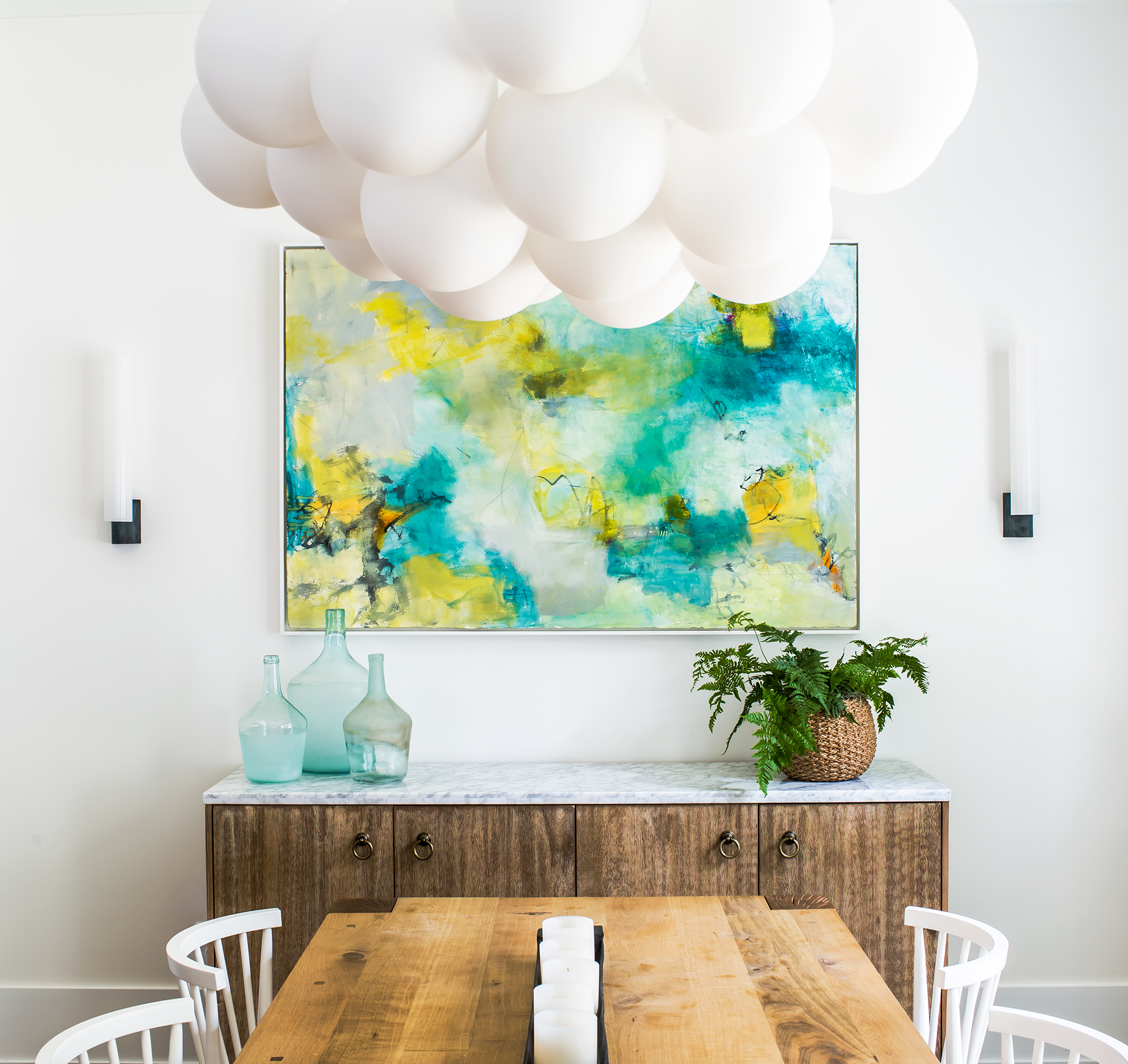 marietta dining room | new construction | ginger oglesby painting | jeff herr photography