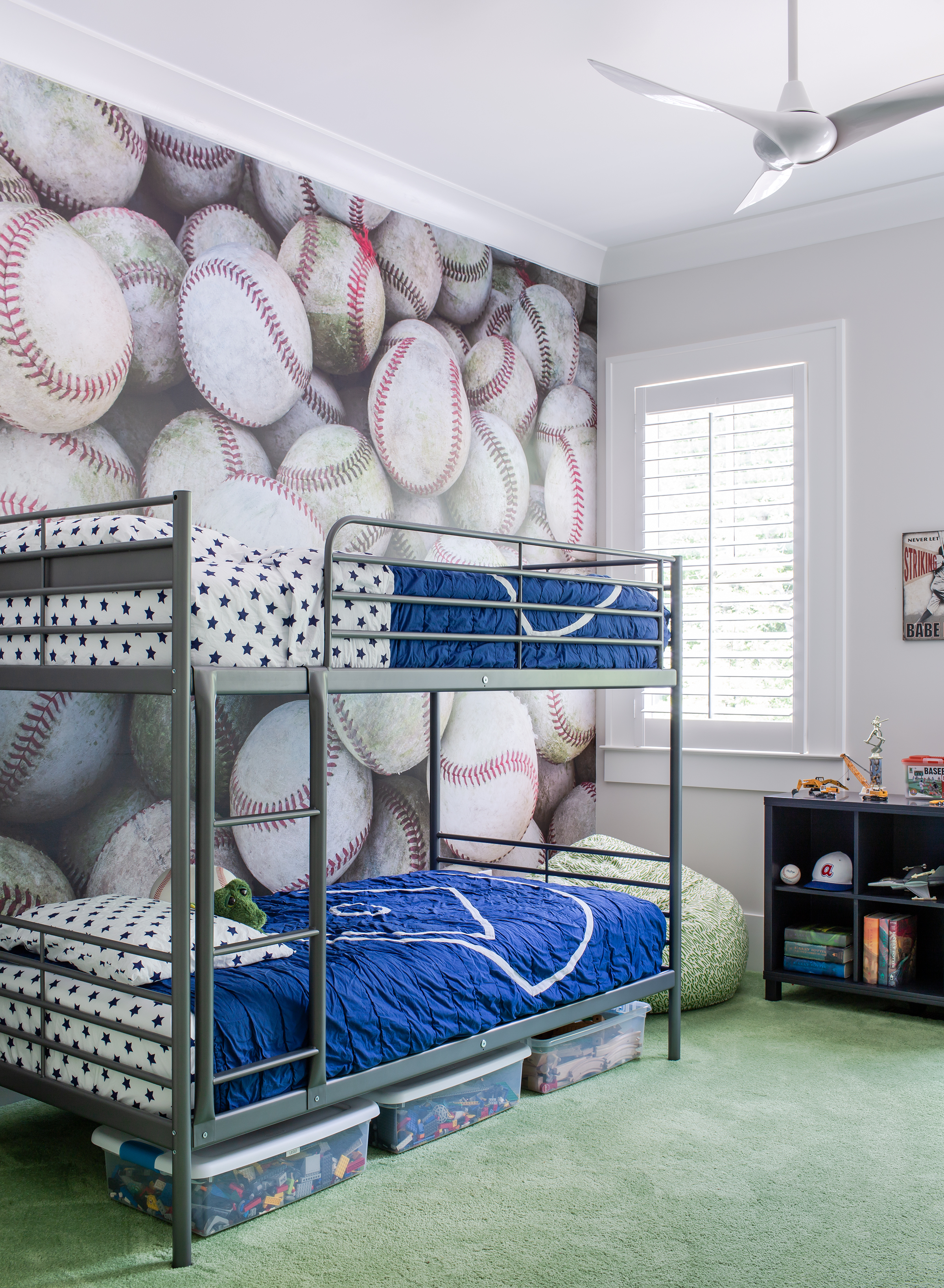 marietta boy's bedroom | new construction | jeff herr photography