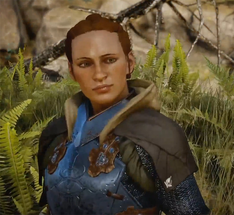 Lead Scout Harding is a Dwarven rogue, skilled in archery. She's super nice, too.