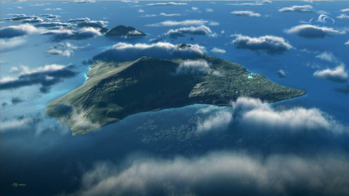 Credits for animation, lighting and rendering CGI flyovers of Hawaiian islands [Maya + Vue] and final compositing. Aired on Nat Geo Channel [Sept 16 2012]