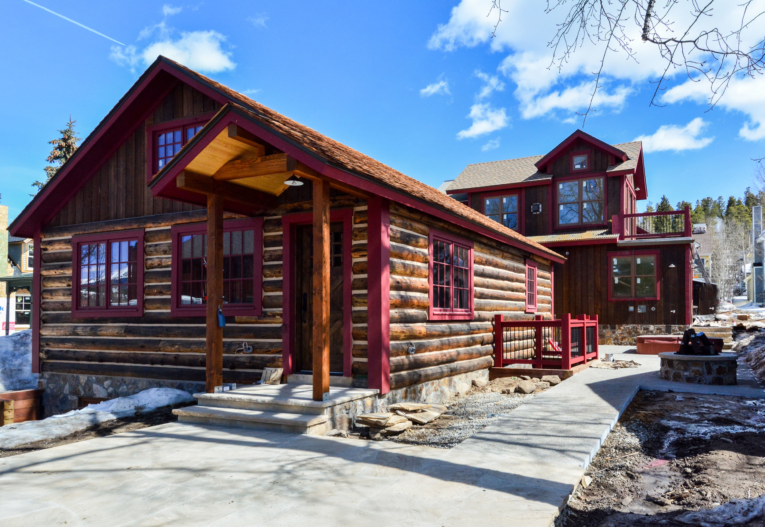 This home will be a new addition to the historic core of Breckenridge