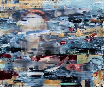 The Living Layer, 2013 | 40 x 48 inches | Oil and Acrylic on Canvas