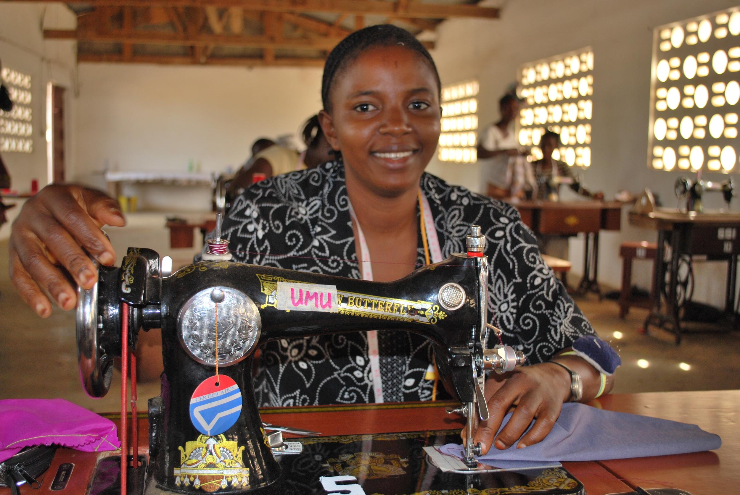 Sierra Leone Sewing Umu.JPG