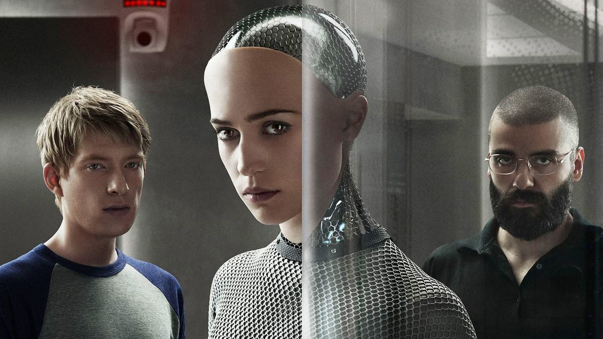 A promo image for   Ex Machina   — a movie I  highly  recommend