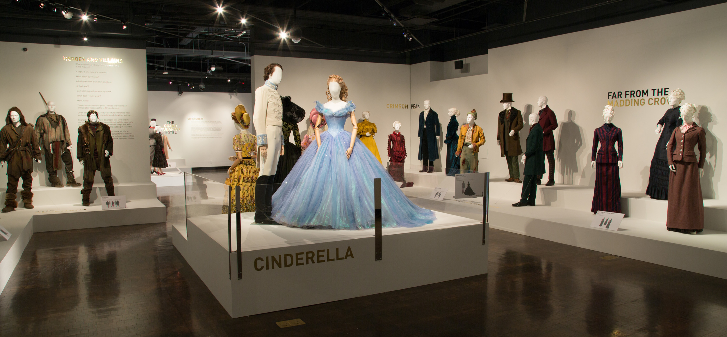 "A view of the 24th Annual ""Art of Motion Picture Costume Design"" exhibition, FIDM Museum, Fashion Institute of Design & Merchandising, Los Angeles. The exhibition is free to the public, Tuesday, February 9 through Saturday, April 30, 2016, 10:00 a.m. - 5:00 p.m. ..(Photo: Alex J. Berliner/ABImages)"