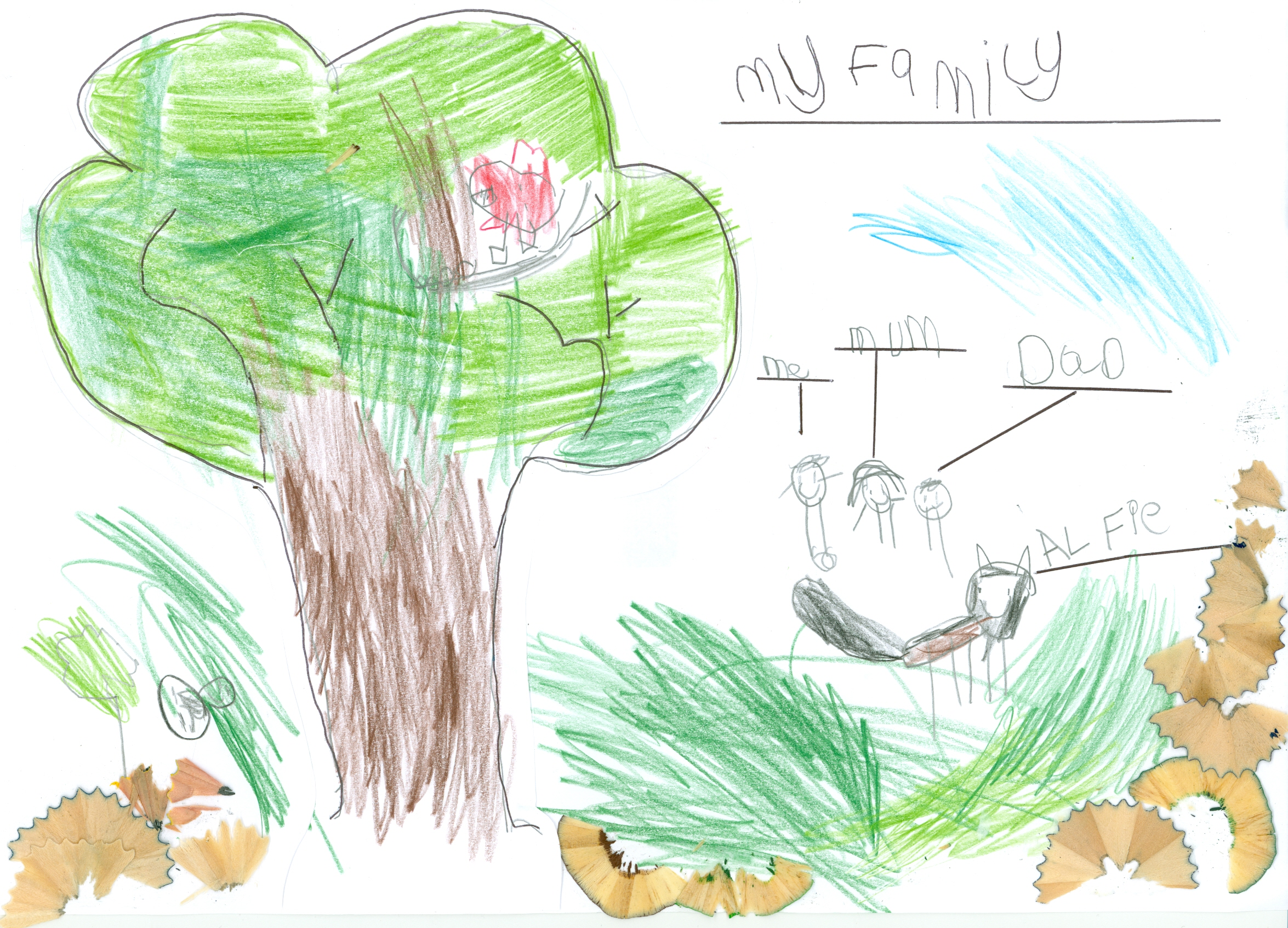 Bailey Godiff My Family age 5.jpg