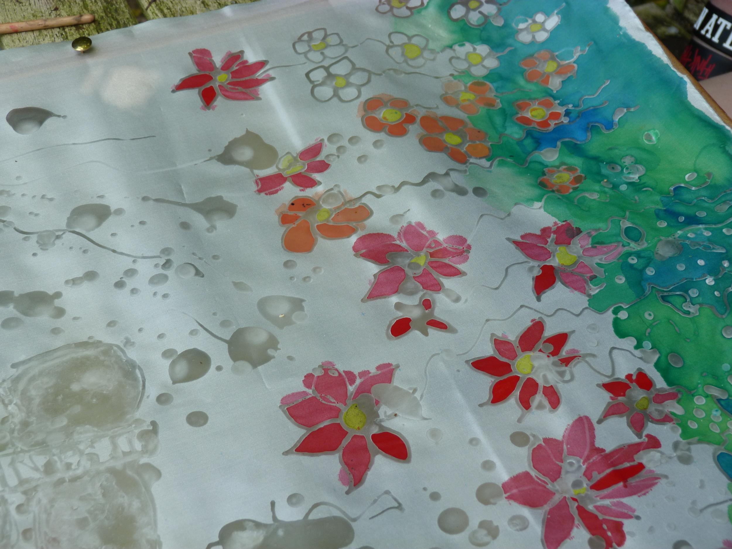 Jess Oliver batik flowers age 15.JPG