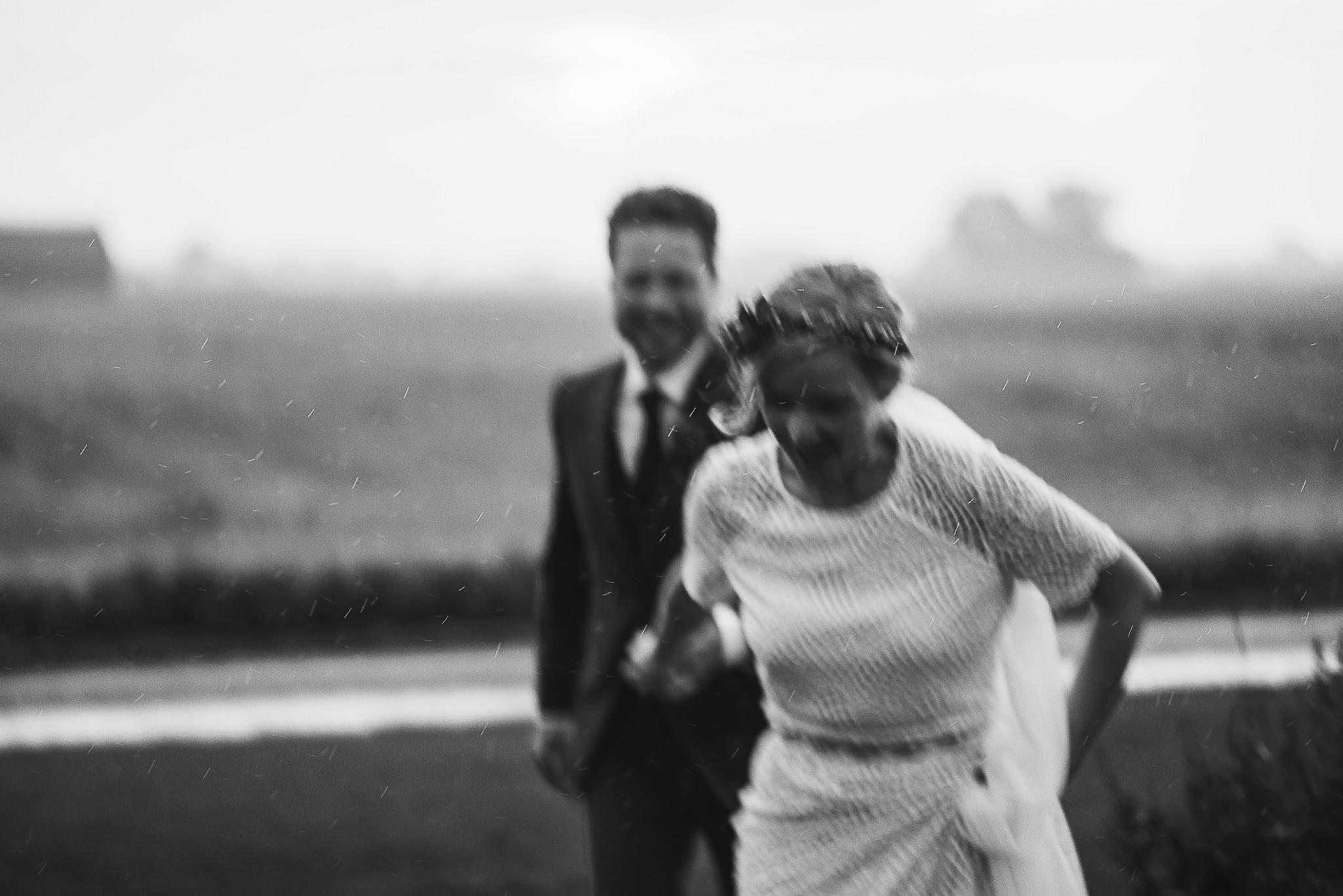 Brudpar i Ösregn, bröllop på Nygård Event