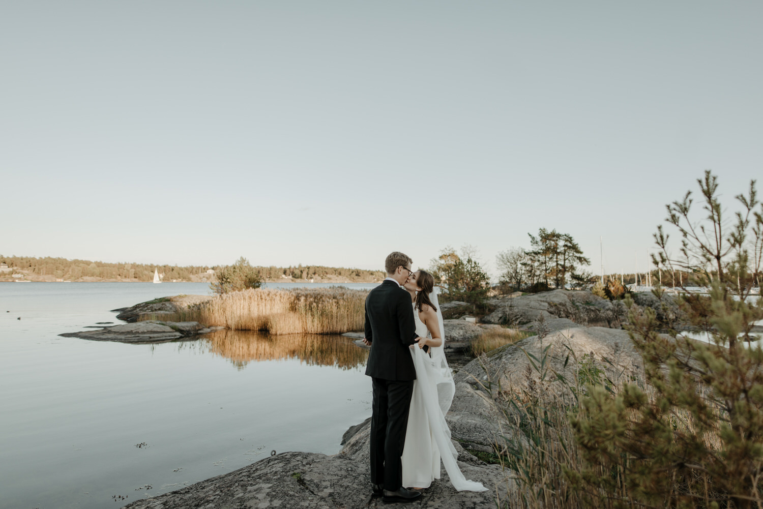 Archipelago wedding portraits