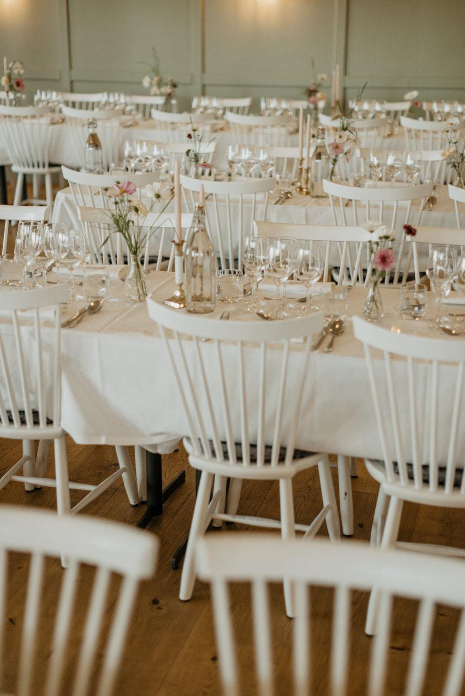 Inspiration bröllopsdekoration, Arkösunds Hotell