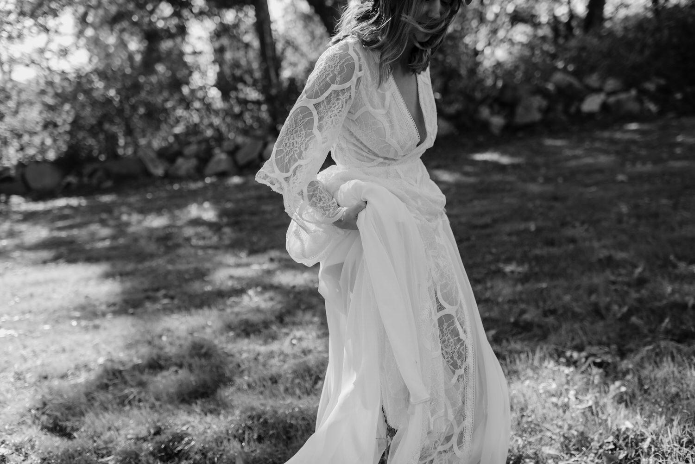 Ivory & Grace lace wedding dress